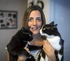Itziar Couso, una navarra que dedica su tiempo libre a rescatar gatos