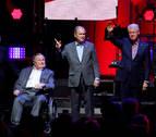 Cinco expresidentes norteamericanos acuden a una gala benéfica juntos