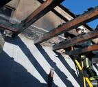Un incendio causa daños de consideración en una vivienda de Añorbe