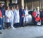 El área de Tudela refuerza el servicio de hospitalización a domicilio