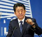 Abe promete