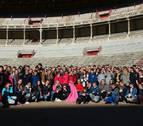 Más de un centenar de alumnos de la Escuela de Música de Viljandi (Estonia), de visita en Barañáin