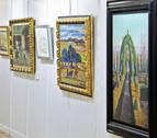Lorenart inaugura exposición en el hotel Tres Reyes de Pamplona con casi 200 obras