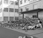 Mater Dei, 1.500 alumnos en una historia de medio siglo entre Ayegui y Estella