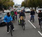 Marcha ciclista por los colegios para reivindicar rutas seguras