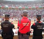 La Policía Foral ha controlado 301 espectáculos taurinos y ha detectado 46 infracciones