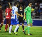 El Tenerife tardará en olvidar a Sergio Herrera