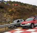Imputado tras caer 10 metros borracho con su coche al arcén de la A-12 en Estella