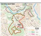 Pamplona acoge este sábado miles de zancadas en la V Carrera de Las Murallas