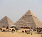 Descubren una nueva cámara vacía en la gran Pirámide de Keops en Egipto