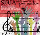 Pamplona estrena un espectáculo multidisciplinar sobre la guerra de Siria