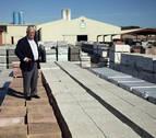 PVT llena de baldosas el barrio financiero madrileño de Azca
