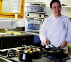 El estrella Michelín David Yárnoz, jefe de cocina del Baluarte y del Navarra Arena