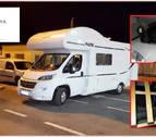 Detienen a una mujer con 5 inmigrantes escondidos en su autocaravana en Ceuta
