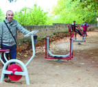 Los Arcos disfruta ya de su parque biosaludable
