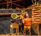 'Mobil', nuevo espectáculo de circo-teatro en el Auditorio Barañáin
