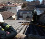 Registrado un incendio sin heridos en una vivienda de Caparroso