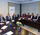 Empresarios valencianos defienden en Pamplona el potencial del corredor Cantábrico-Mediterráneo
