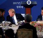 Trump avisa a Corea del Norte de que está dispuesto a usar todo su poder militar
