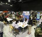 Tafalla reúne a más de 400 jóvenes en la Feria de Empresas Simuladas