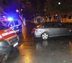 Herido leve un ciclista por colisionar con un vehículo en el centro de Pamplona