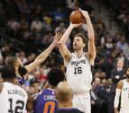 Los hermanos Gasol brillan en las victorias de Spurs y Grizzlies