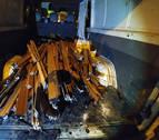 Dos arrestados por robar perfiles y aluminio de ventanas enArtica