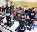 Los científicos se 'cuelan' en las aulas del colegio Griseras de Tudela