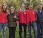 Los paseos saludables de Cruz Roja comienzan en el centro de Estella