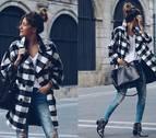 El abrigo de la temporada 'oversize' y con estampado de cuadros
