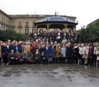 Jubilados de Tafalla celebran el día del socio de la Asociación San Sebastián