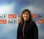 Silvia Cepas, secretaria general del PSN de Tudela