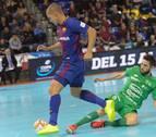 Osasuna Magna logra un sufrido punto ante el Barça en el Palau