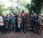 El restaurante Santxotena gana el Premio de cocina de paloma de Etxalar