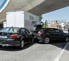 Cada día unos 70 conductores navarros sufren un accidente leve de tráfico