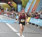 El podium de la Behobia-San Sebastián