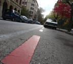 La zona azul en Pamplona: del naranja al rojo va una multa