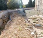 La restauración de la muralla del castillo de Cortes costará 304.602 €