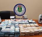 La policía se incauta 500.000 euros en un control rutinario en Madrid