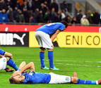 Italia consuma su fracaso y no estará en el Mundial de Rusia