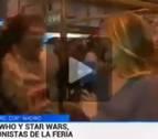 El gran susto a una reportera de TVE en pleno directo
