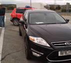 Detenido en Valtierra por conducir con un carné falso a 211 km/h