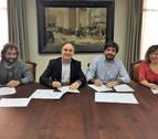 Convenios de colaboración entre Ayuntamiento de Tudela y ETI
