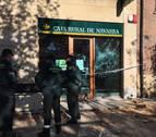 Intentan robar en un cajero de Puente la Reina con gas inflamable
