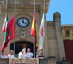 El TAN anula la decisión del Ayuntamiento de Estella de colocar la ikurriña en fiestas
