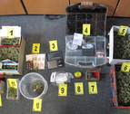 La Policía Foral detiene a un vecino de Caparroso por tráfico de drogas