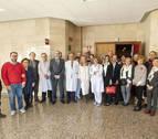 El hospital de Tudela dedica un aula al promotor de la Historia Clínica Informatizada