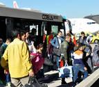Llegan 26 refugiados sirios a Navarra, la segunda provincia que más acoge