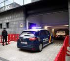 Cuatro policías forales explican la reconstrucción del recorrido que realizaron los acusados con la víctima