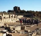 El yacimiento de Santa Criz de Eslava llama a los visitantes